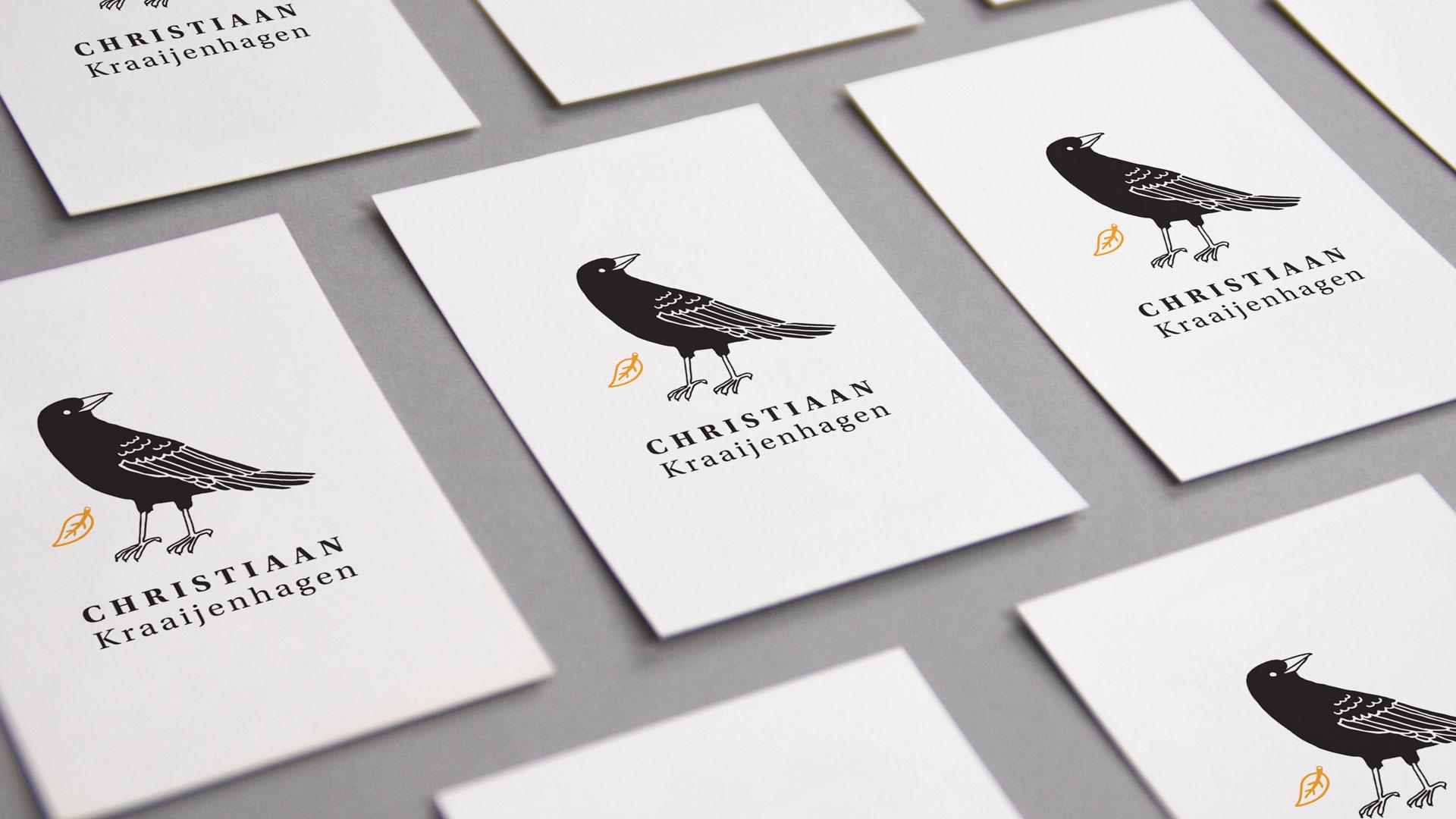 Branding - Christiaan Kraaijenhagen - Visitekaartje door Studio Vondst