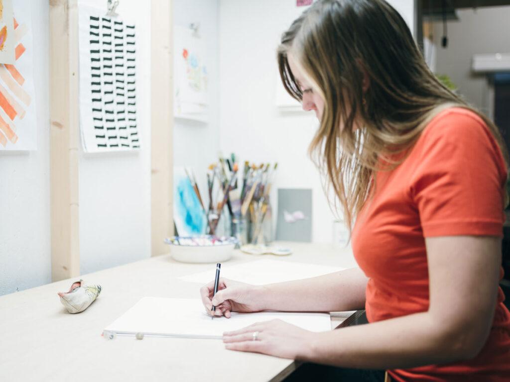 Studio Vondst - ontwerpproces stap 3 - schetsen